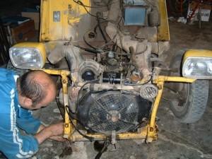 motor 2CV